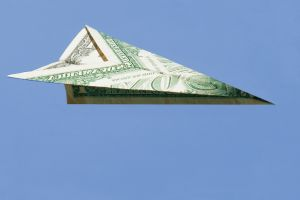"Money you don't see can ""fly away"" before you know it"